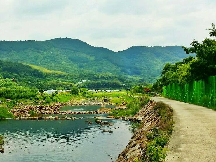 청암체육공원-평촌마을(횡천강둑)